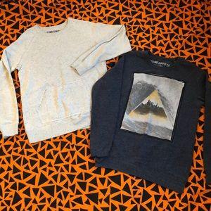 Lot of 2 Men's Mossimo Supply Co. Sweatshirts